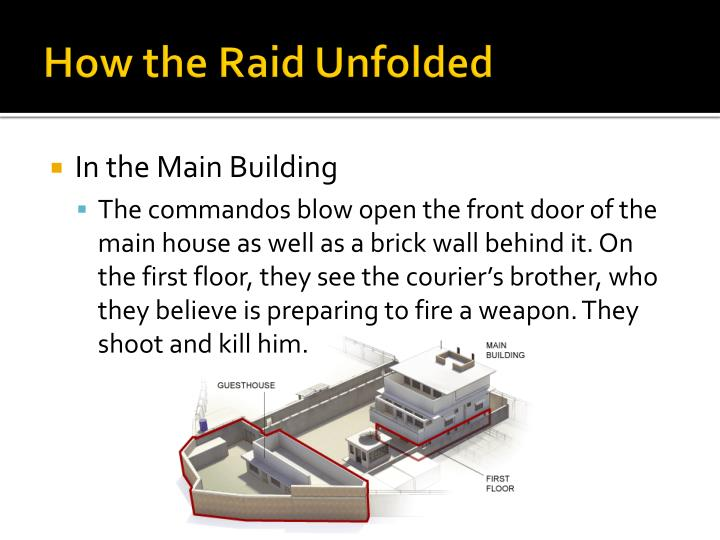 How the Raid Unfolded