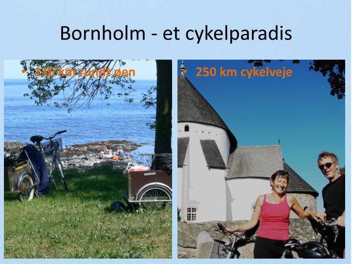 Bornholm - et cykelparadis