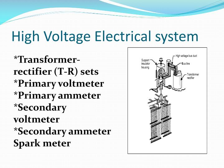High Voltage Electrical system