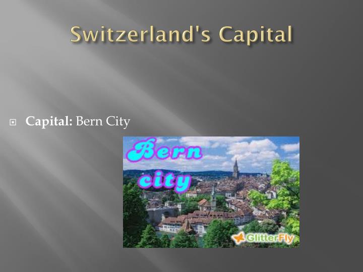 Switzerland's Capital