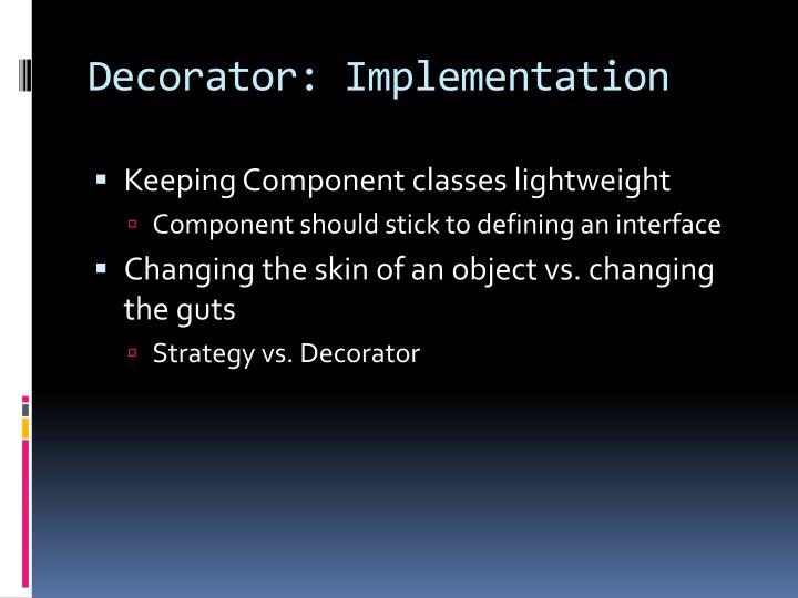 Decorator: