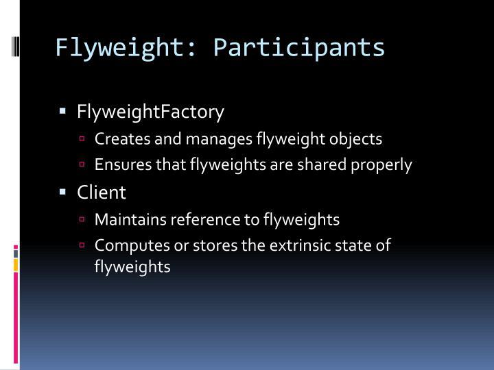 Flyweight: