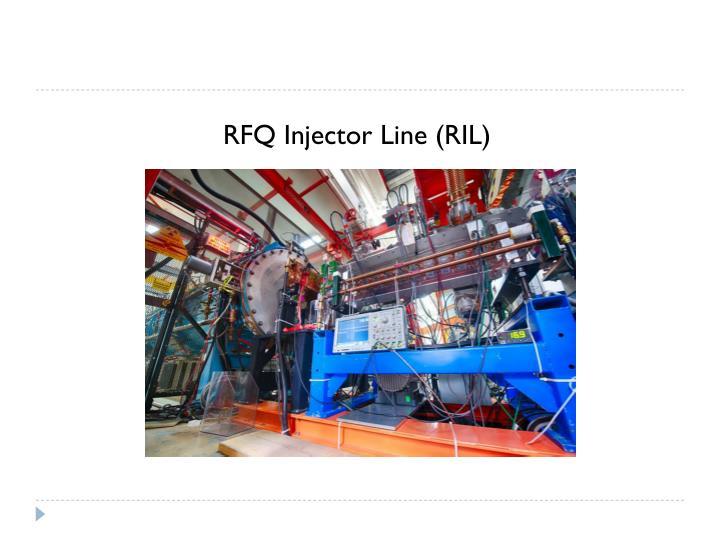 RFQ Injector Line (