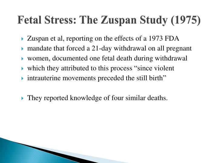 Fetal Stress: The
