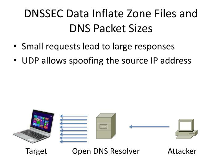 DNSSEC Data Inflate Zone Files and DNS Packet Sizes