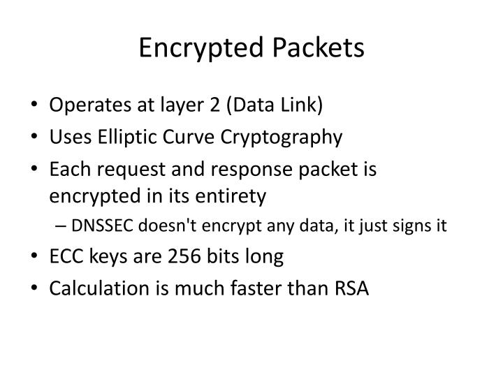 Encrypted Packets