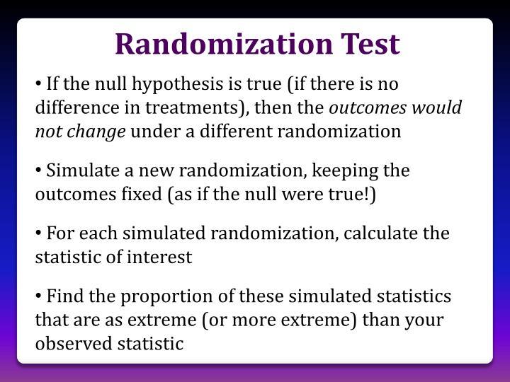 Randomization Test
