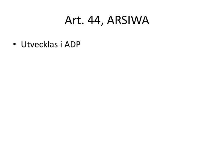 Art. 44, ARSIWA