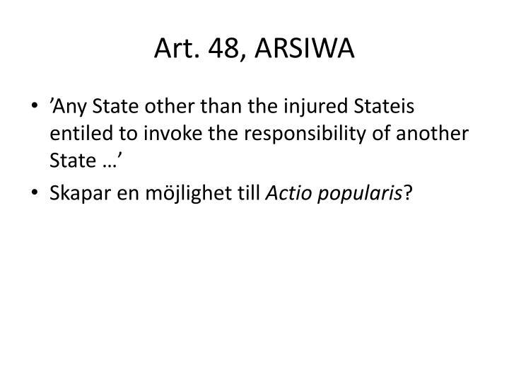 Art. 48, ARSIWA