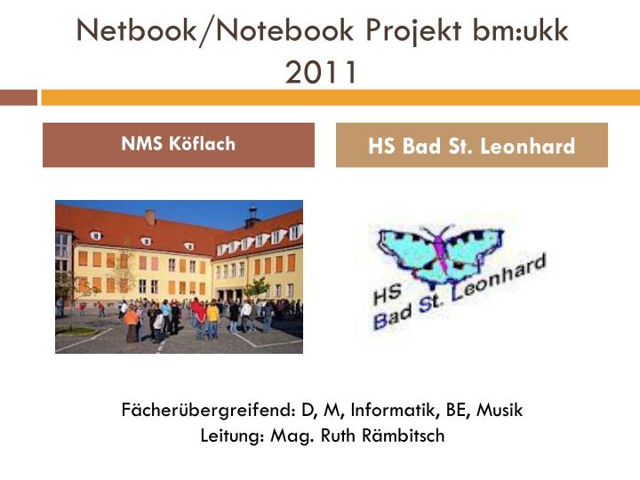 Netbook notebook projekt bm ukk 2011