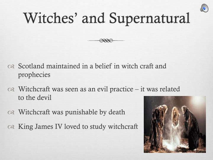 Witches' and Supernatural