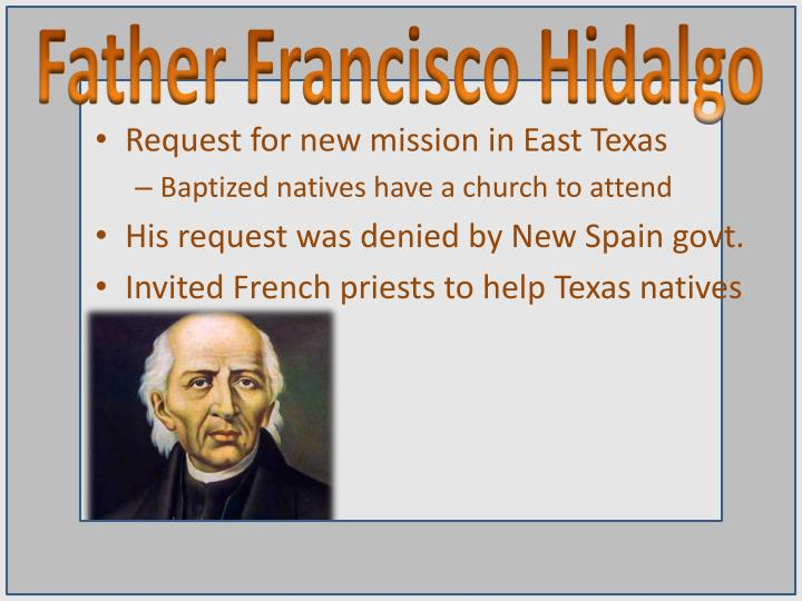 Father Francisco Hidalgo
