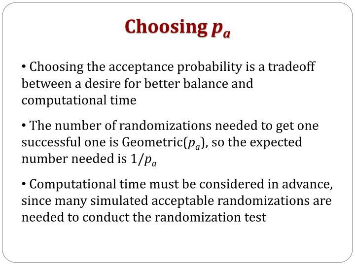 Choosing