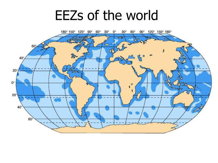 EEZs of the world