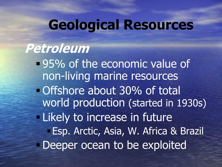 Geological Resources