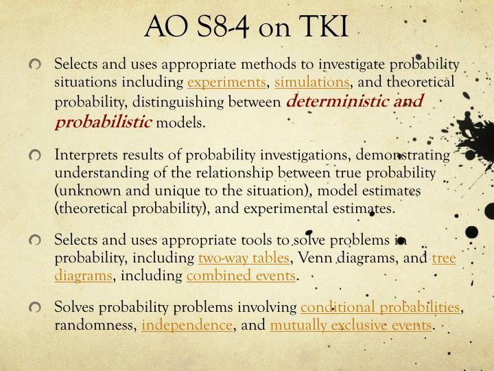 AO S8-4 on TKI