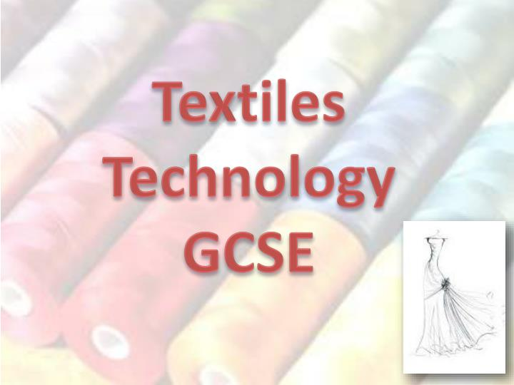 Design and Technology GCSE - WJEC