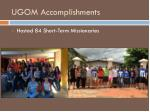 ugom accomplishments3