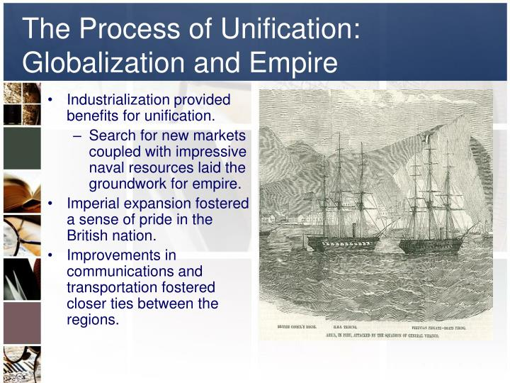 The Process of Unification: Globalization and Empire