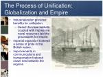 the process of unification globalization and empire
