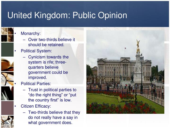 United Kingdom: Public Opinion