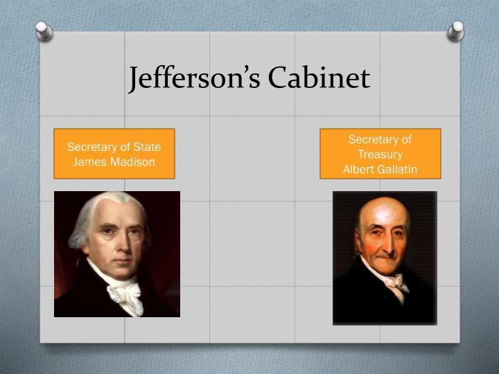 Jefferson's Cabinet