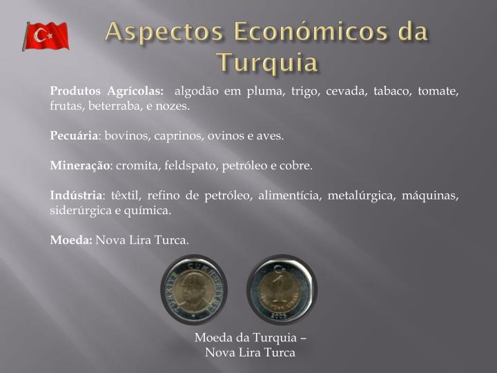 Aspectos Económicos da Turquia