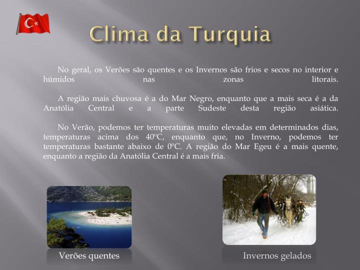Clima da Turquia