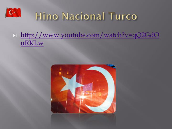 Hino Nacional Turco
