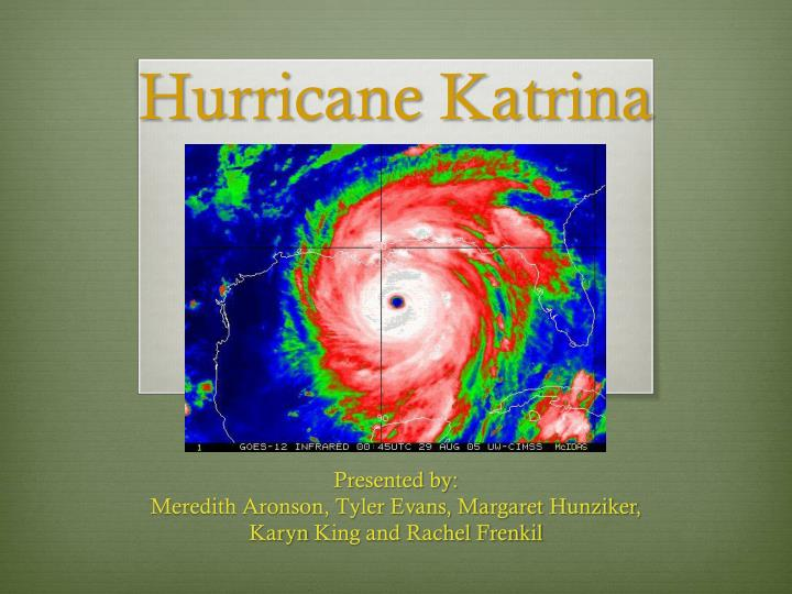 essay on hurricane katrina