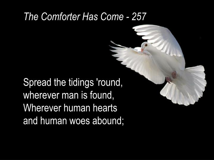 The Comforter Has Come - 257