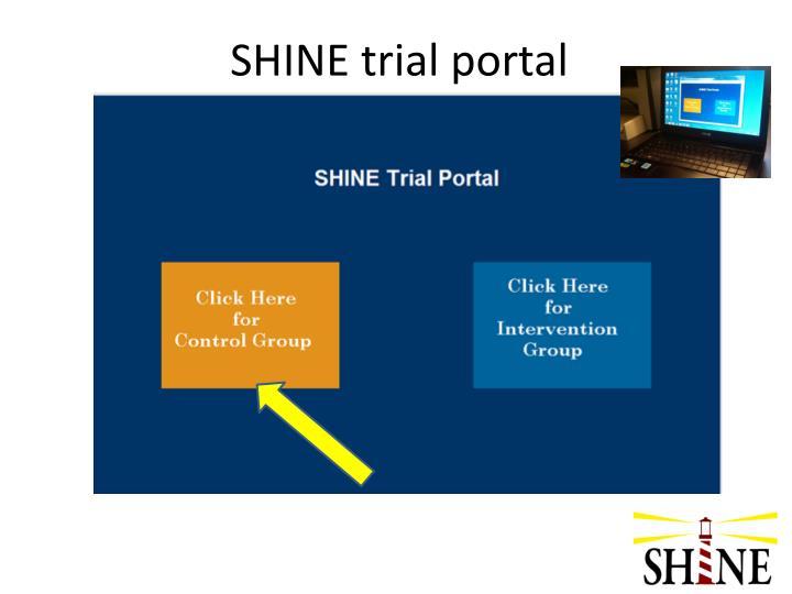 SHINE trial