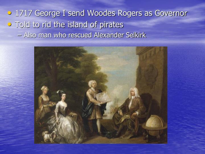 1717 George I send