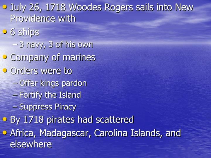 July 26, 1718