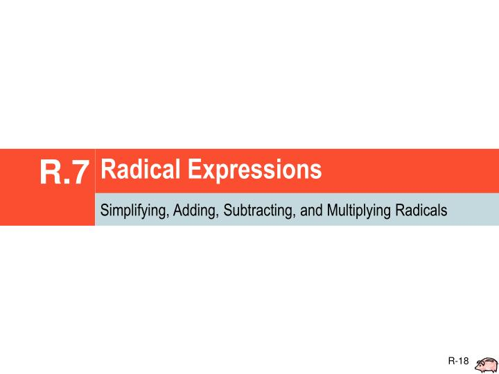 Radical Expressions