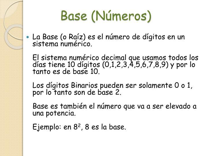 Base (Números)