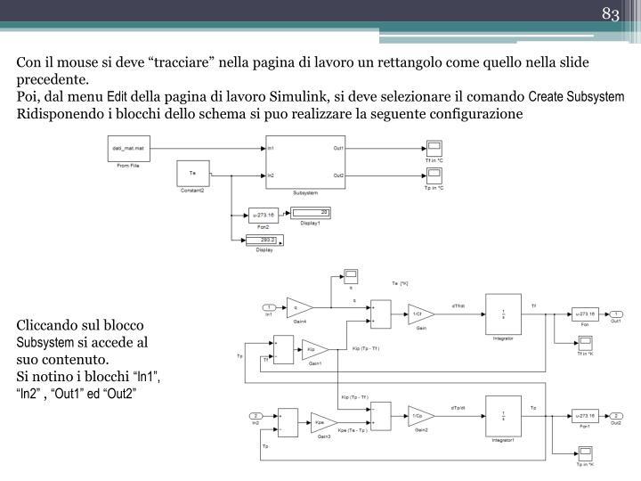 """Con il mouse si deve """"tracciare"""" nella pagina di lavoro un rettangolo come quello nella slide precedente."""
