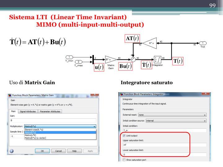 Sistema LTI  (Linear