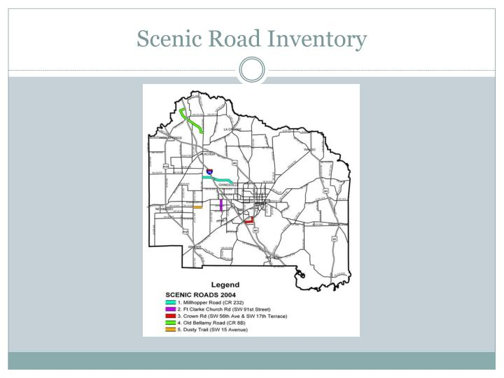 Scenic Road Inventory