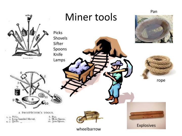 Miner tools