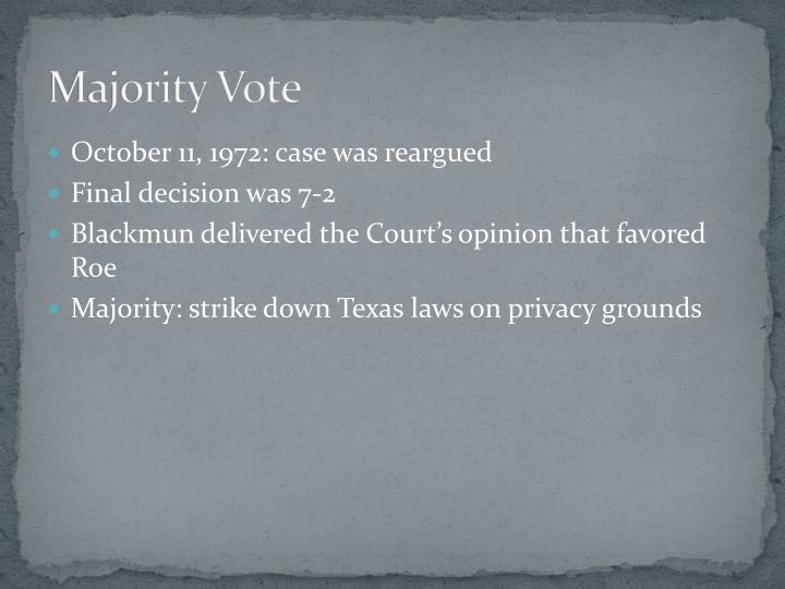 Majority Vote