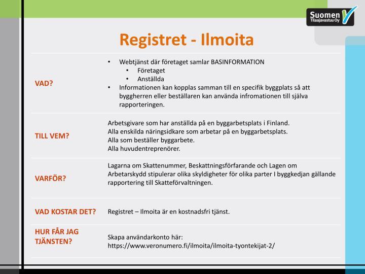 Registret