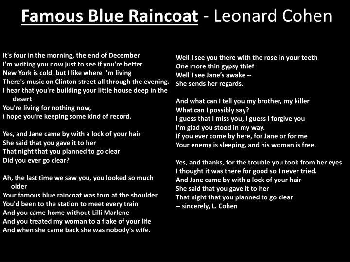 Famous Blue