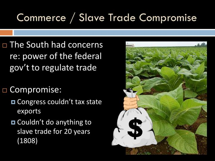 Commerce / Slave Trade Compromise