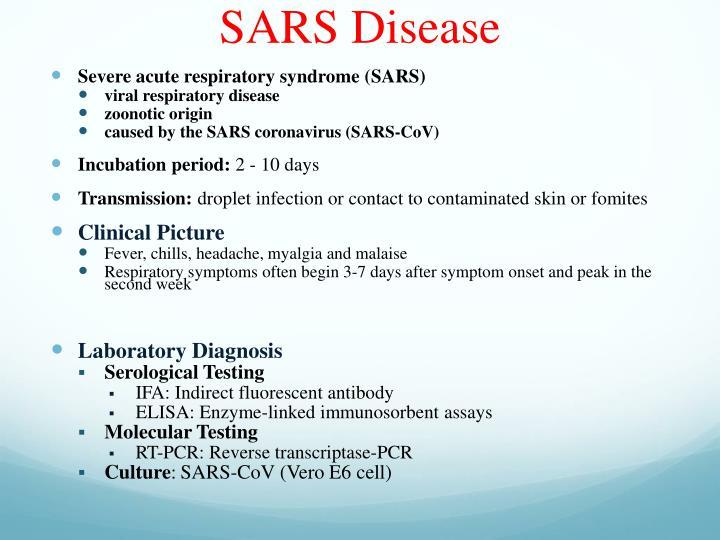 SARS Disease