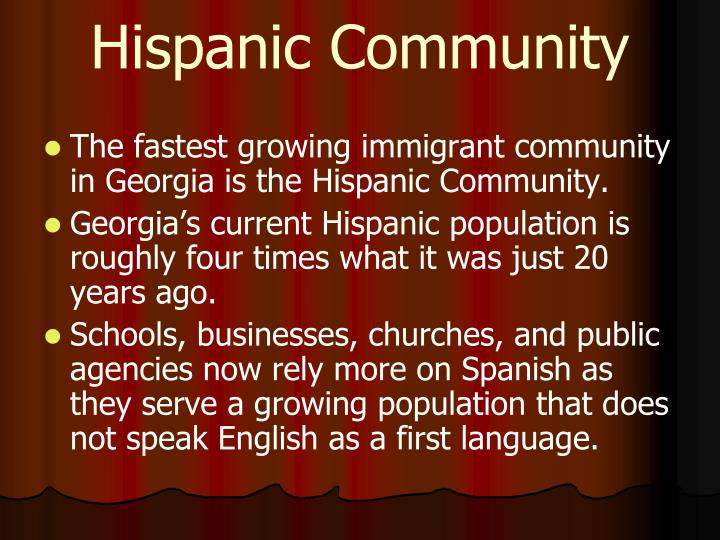 Hispanic Community