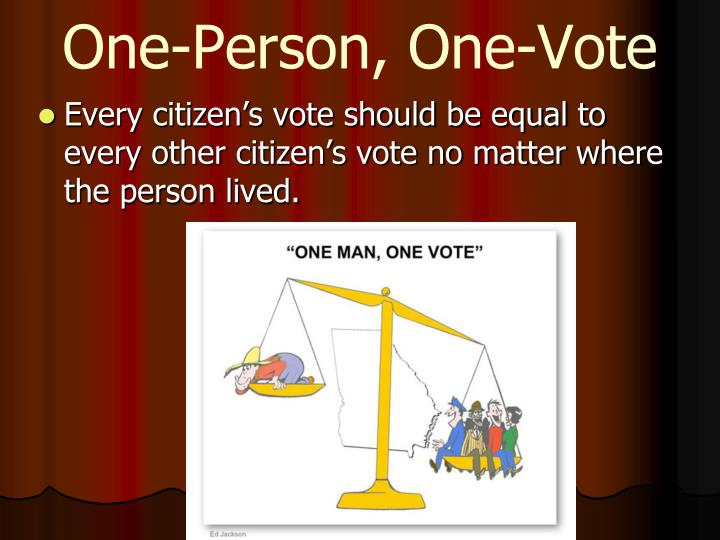 One-Person, One-Vote