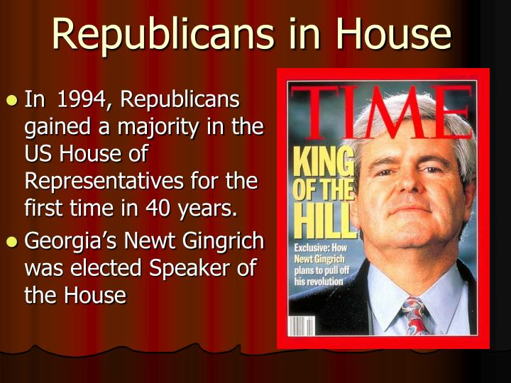 Republicans in House
