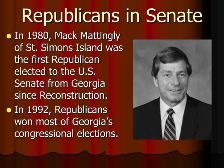 Republicans in Senate