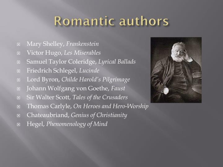 Romantic authors